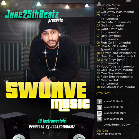 June25th Swurve Music Cover