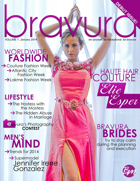 Bravura Magazine Cover
